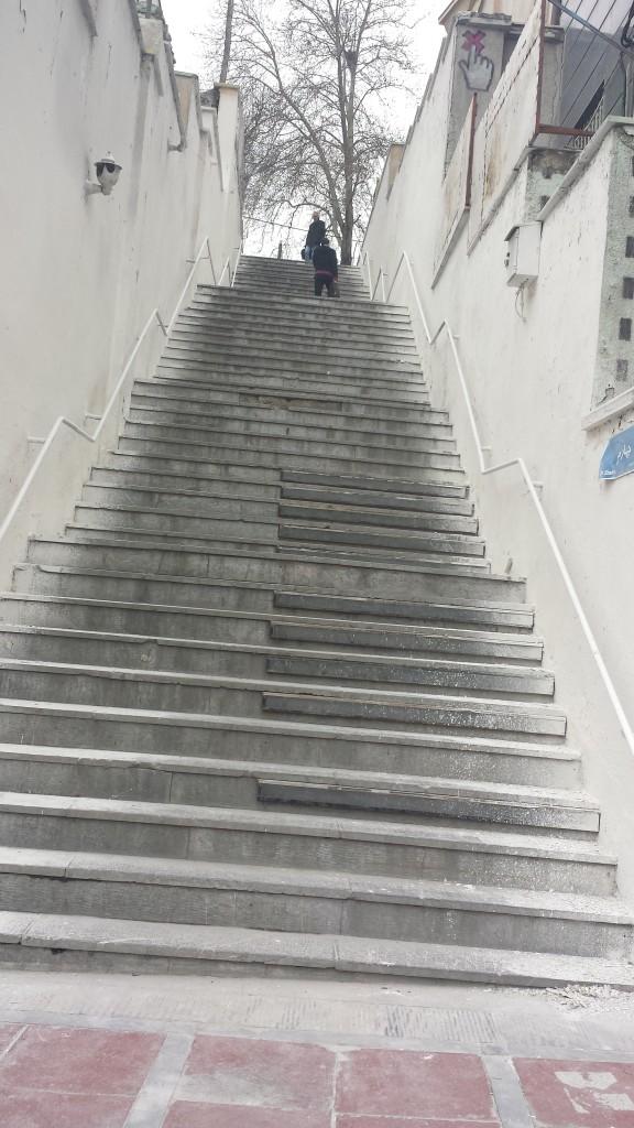 tehran stairway