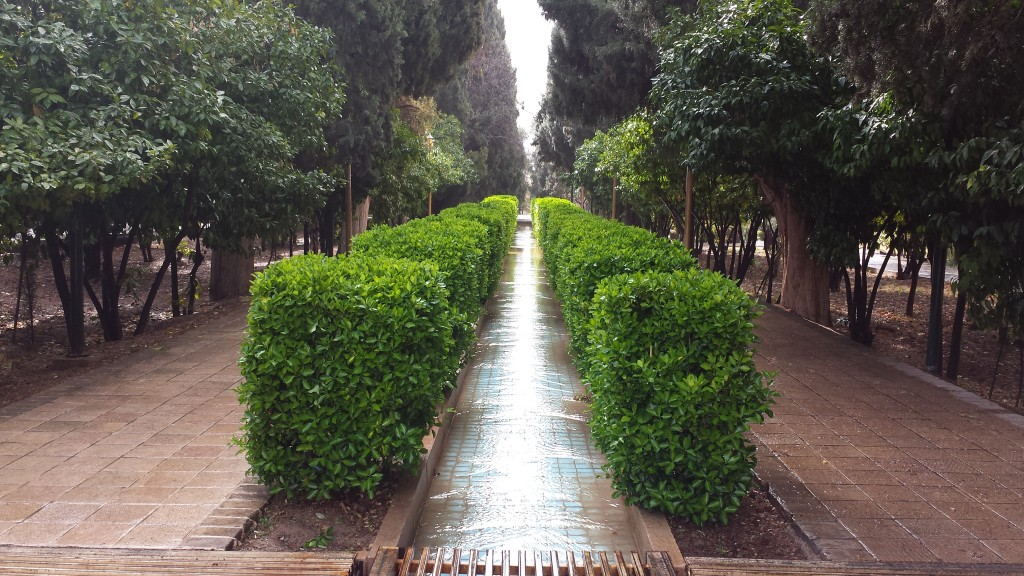 Eram garden waterway